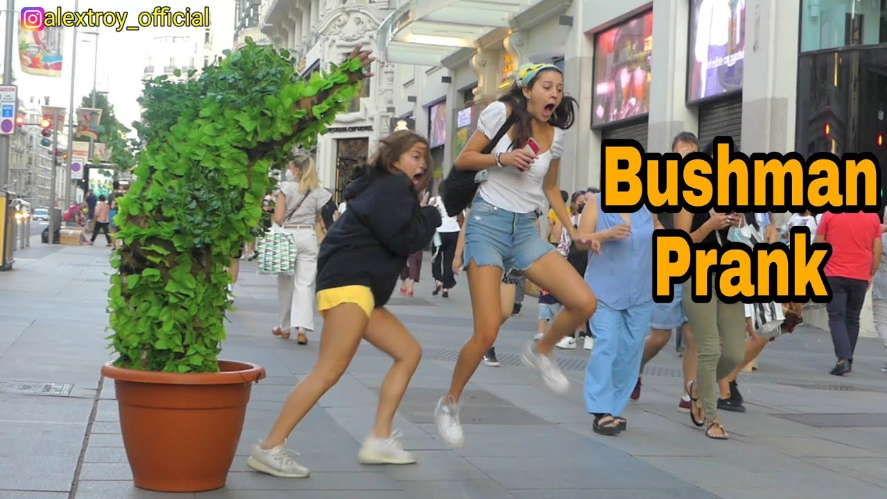 15 minutes of Funny Reactions | Bushman Prank Scaring People | Hilarious