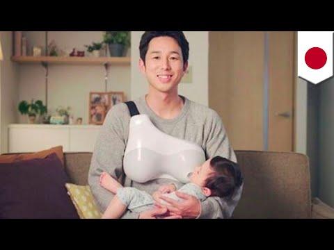 Perusahaan Jepang Buat Alat Untuk Ayah Bisa Menyusui - TomoNews