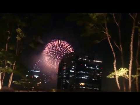 Osaka Yodogawa fireworks 2016,Osaka city,Kansai region,Japan 6th August,2016 long version part 1