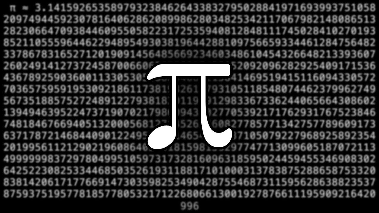 Pi As Music C Major Pentatonic  Cf  Decimal Places
