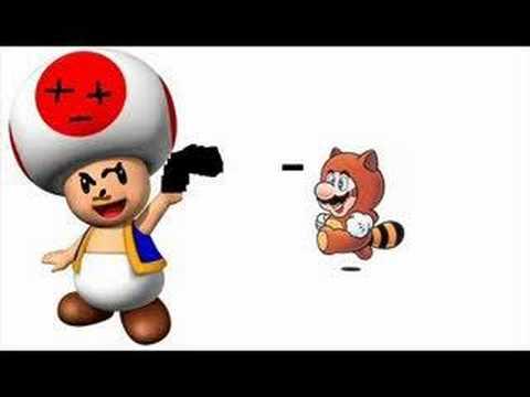 Evil Toad Murders Mario