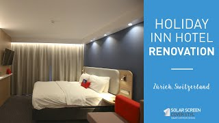 Holiday Inn Express Zürich Airport renovation with Cover Styl'® adhesive coverings