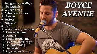 Boyce Avenue Cover, Best Song 2020