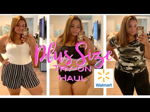*plus-size*-walmart-try-on-haul