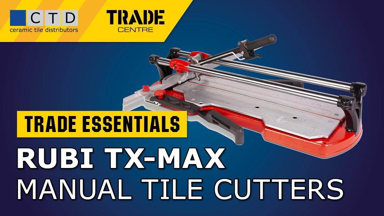 rubi tx max manual tile cutters