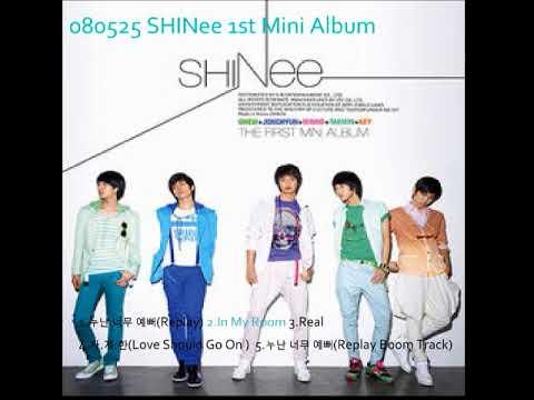 SHINee 1st mini album Replay