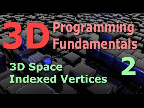 3D Programming Fundamentals [3D Space / Indexed Vertices] Tutorial 2