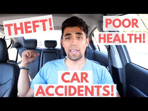 LIVING IN A CAR - IS IT SAFE!? 5 Risks Of Sleeping In Your Car