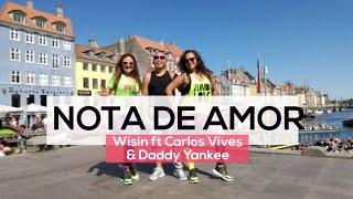 Cubia & Reggaeton - Nota de Amor by Carlos Vives  - Choreo by Karla Borge inspired in Huda Sa.