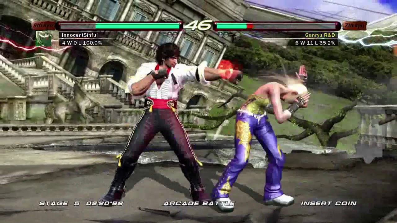 Tekken 6 Xbox 360 Arcade Battle As Miguel Youtube