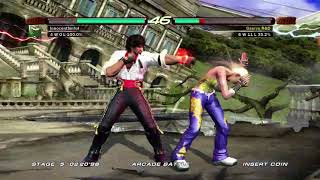Tekken 6 (Xbox 360) Arcade Battle as Miguel