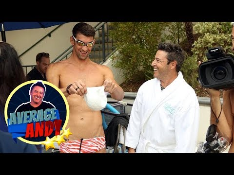 Thumbnail: 'Average Andy' with Michael Phelps