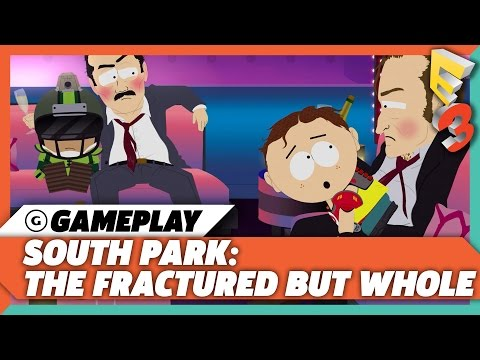 South Park: The Fractured But Whole Lap Dance Gameplay | E3 2017