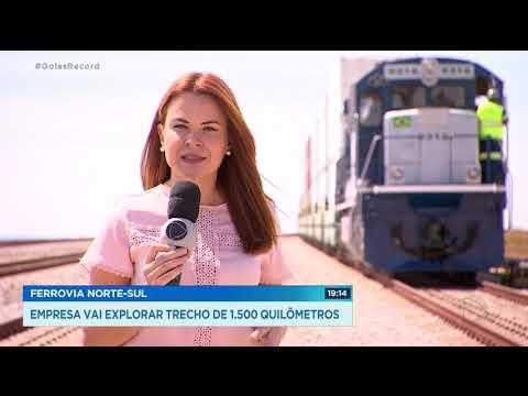 FERROVIA NORTE-SUL: EMPRESA VAI EXPLORAR TRECHO DE 1.500 QUILÔMETROS