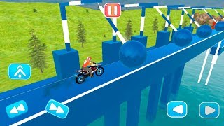 Tricky Ramp Bike Stunt Racing Game - Gameplay Android game - motorcycle racing game