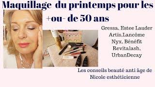 Maquillage anti âge  naturel au crayon