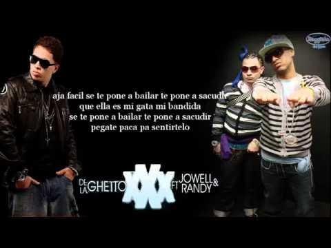 Letra Triple XXX -De La Ghetto Feat. Jowell & Randy (Prod. Live Music). (360p)