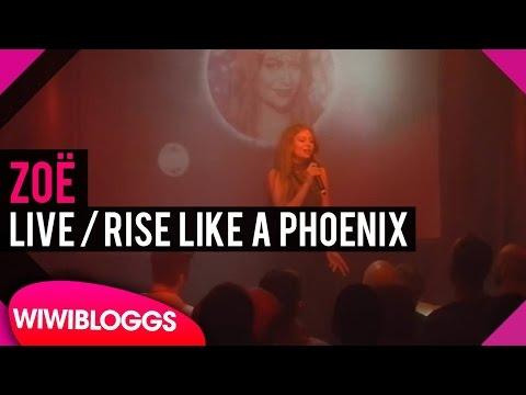 "Live: Zoë - ""Rise Like A Phoenix"" @ Eurovision Weekend Berlin | wiwibloggs"