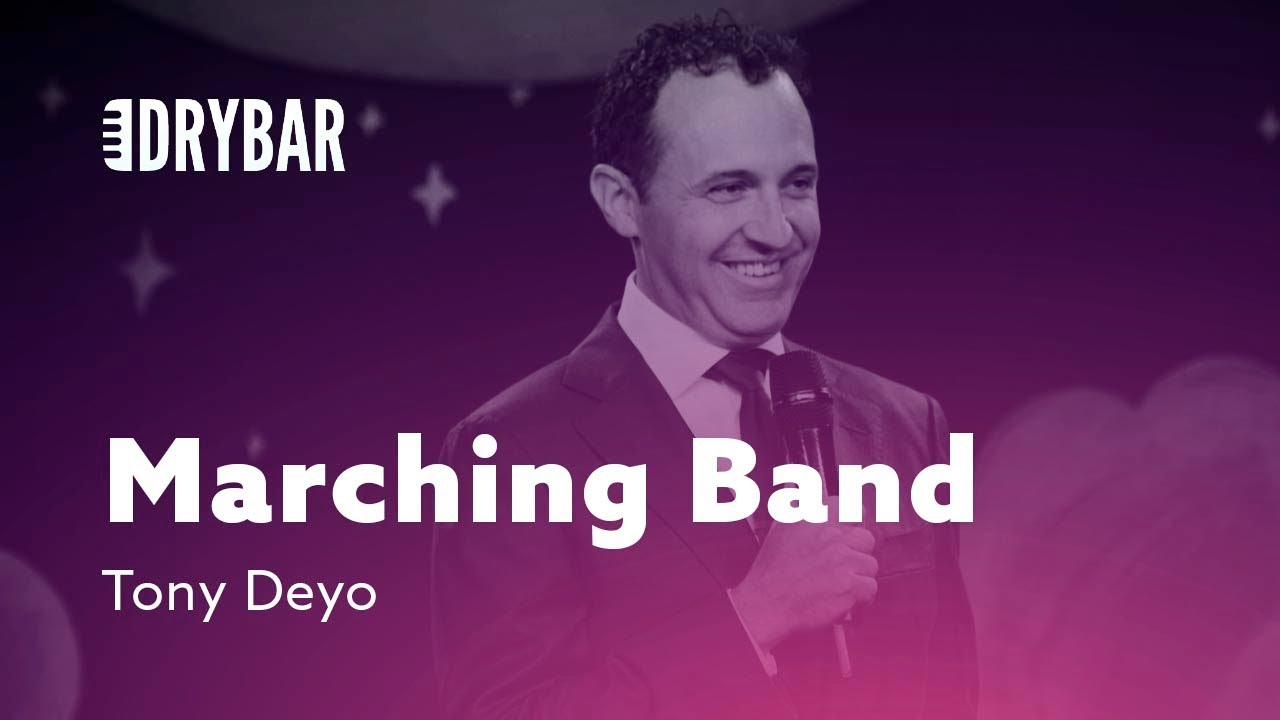 DryBar Marching Band. Tony Deyo