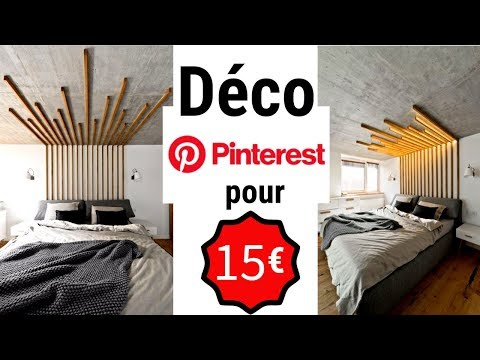 DIY 💕 Déco PINTEREST  (15€) !!!