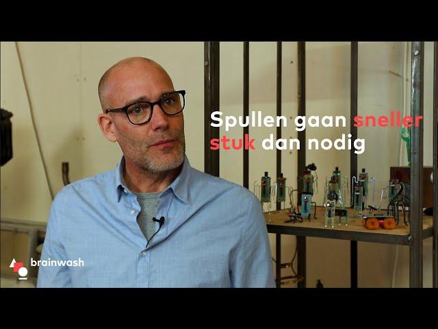 Spullen gaan sneller stuk dan nodig - Uitvinder Eibert Draisma