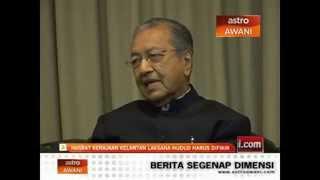 Repeat youtube video Penghinaan Terkini Mahathir Terhadap Hudud Dan Jawapan Pemimpin Pas