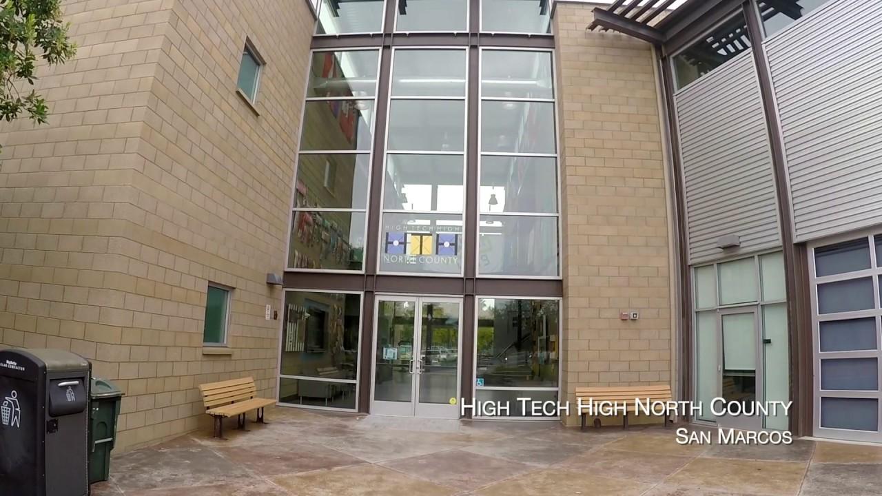High Tech High North County Virtual Tour Youtube