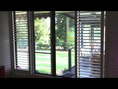Creative Blinds Awnings Plantation Shutters 4 Panels With T Post Byron Bay