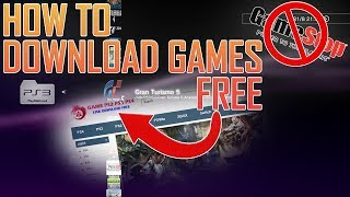 How to get FREE GAMES | Jailbreak PS3
