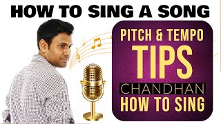 Correct pitch and tempo Tip1 | How to sing for beginners | Singing tips | How to sing any song | #4