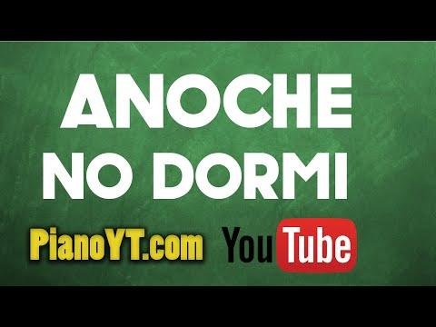 Anoche No Dormi - Kumbia All Starz Piano Tutorial - PianoYT.com