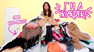 Getting Rid Of ALL My Clothes! Closet Purge!