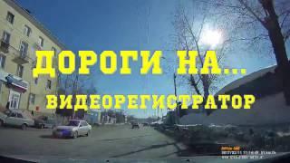 НОВОСИБИРСК. ул. Кошурникова - ул. Большевиская. ДОРОГИ НА... видеорегистратор