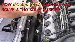 Download Diagnosing A NO CODE Misfire Using Mode 6 Data Mp3 and Videos