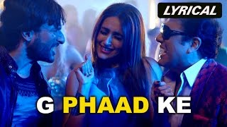 G Phaad Ke (Lyrical Video Song) | Happy Ending | Saif Ali Khan, Govinda & Ileana D