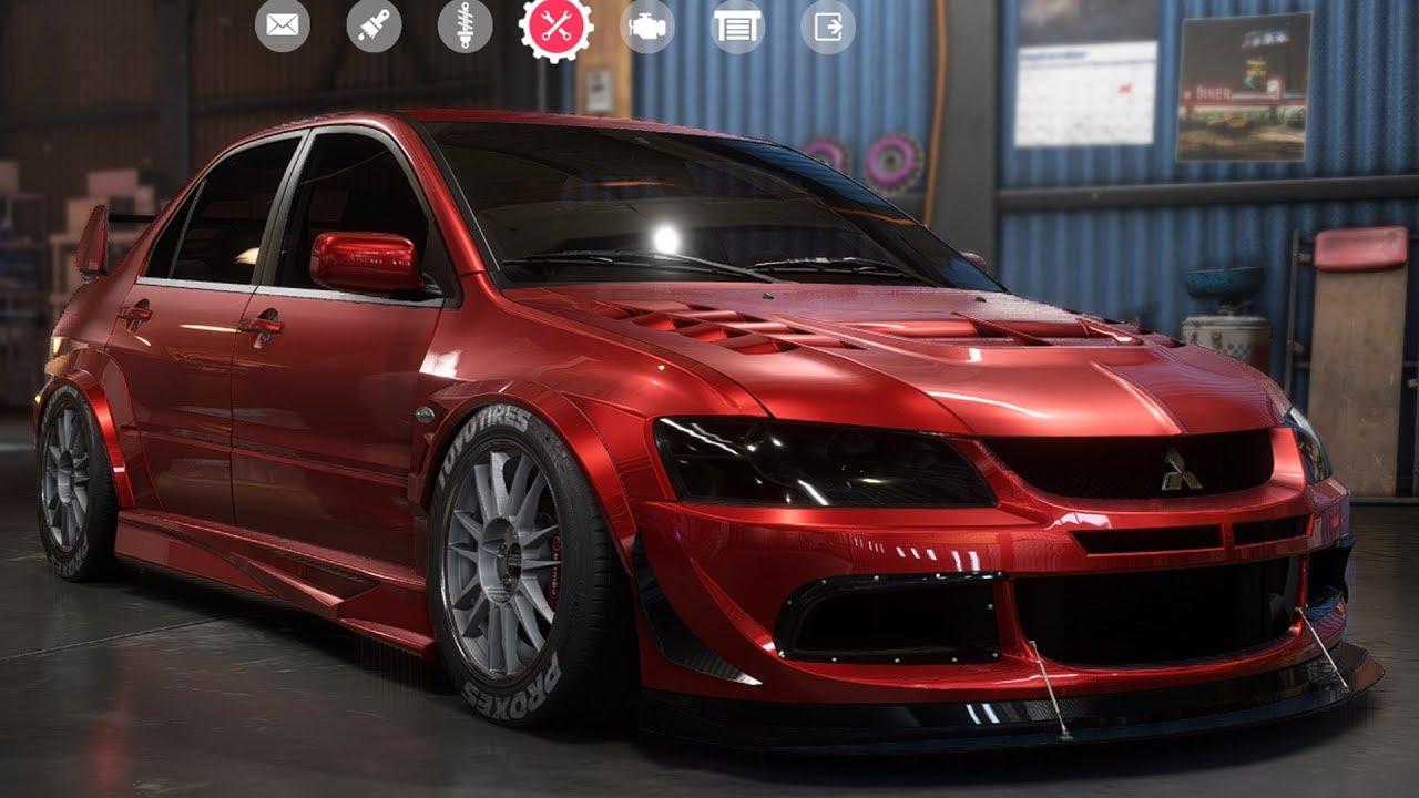 Need For Speed Payback Mitsubishi Lancer Evolution Ix