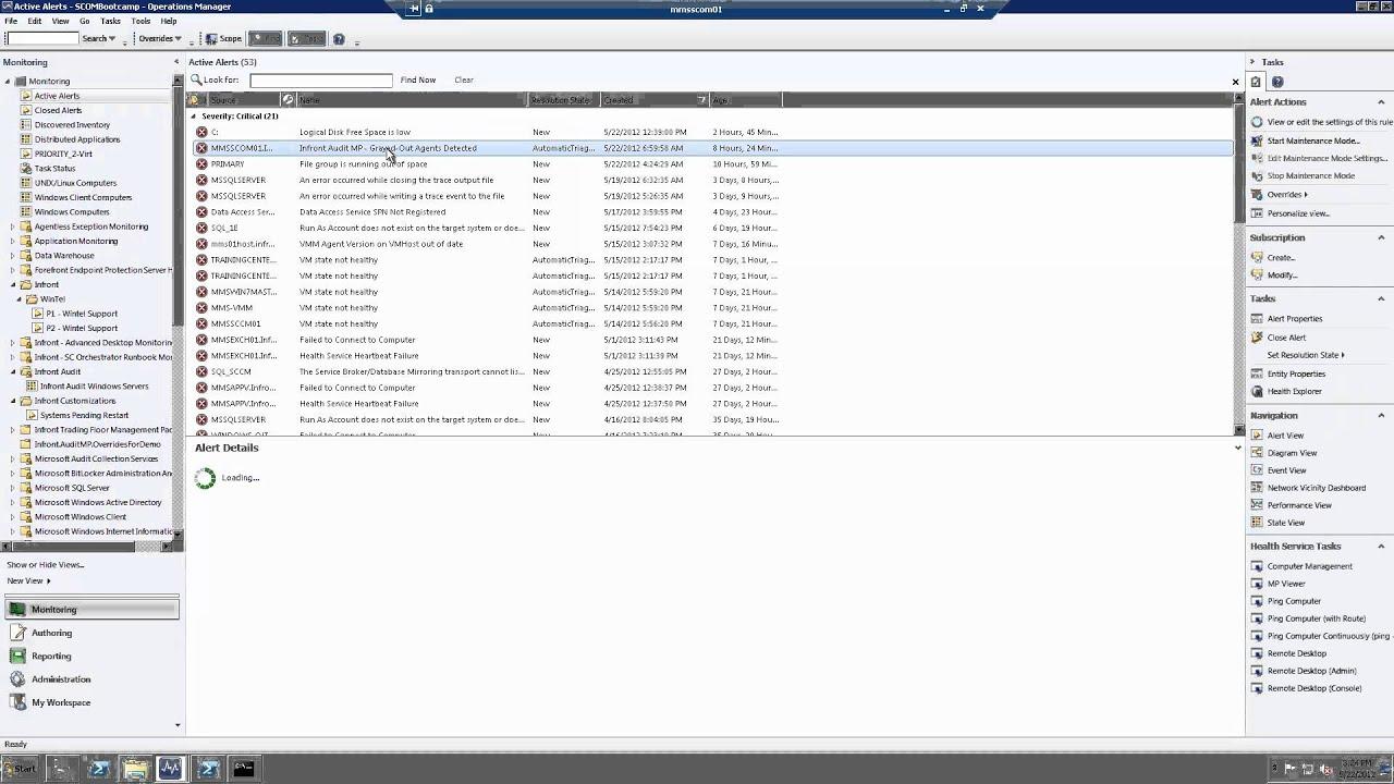 Microsoft SCOM Audit Management Pack | Green House Data