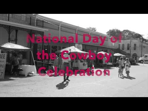 National Day of the Cowboy Celebration - Glen Rose, Texas