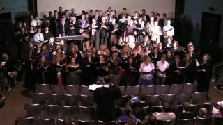 New Saint Andrews Choir singing during Disputatio