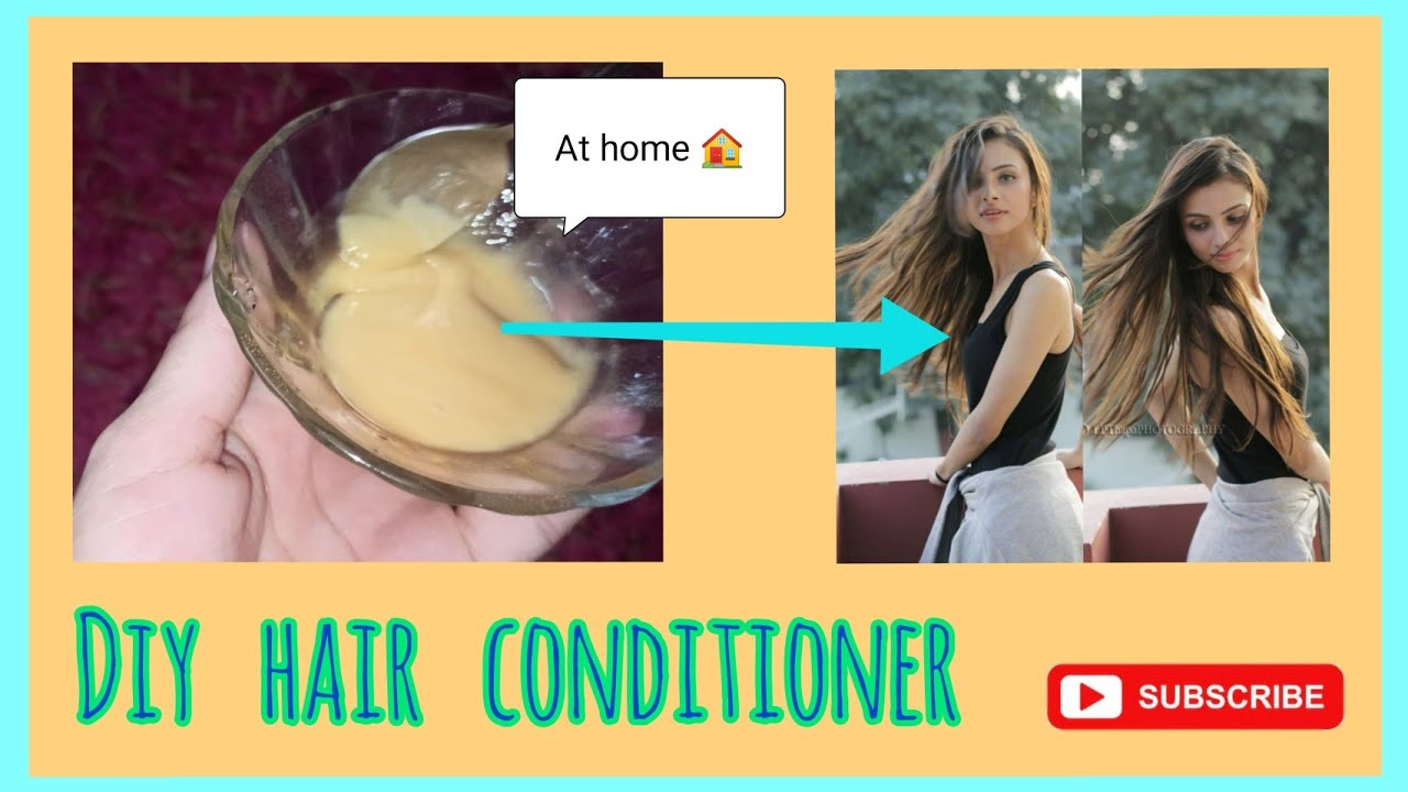 DIY hair conditioner at home