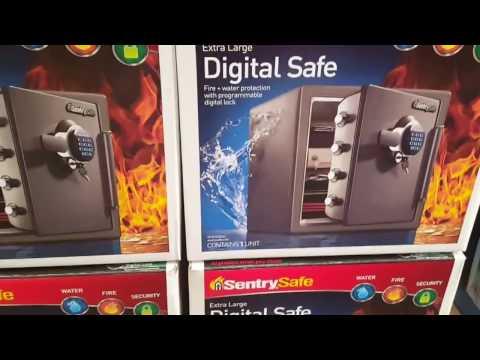 COSTCO - Sentry Safe - Fire Digital Safe 1.2 Cubic Feet