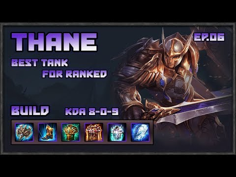 Arena of Valor: Thane MVP, Best Tank for Ranked!?