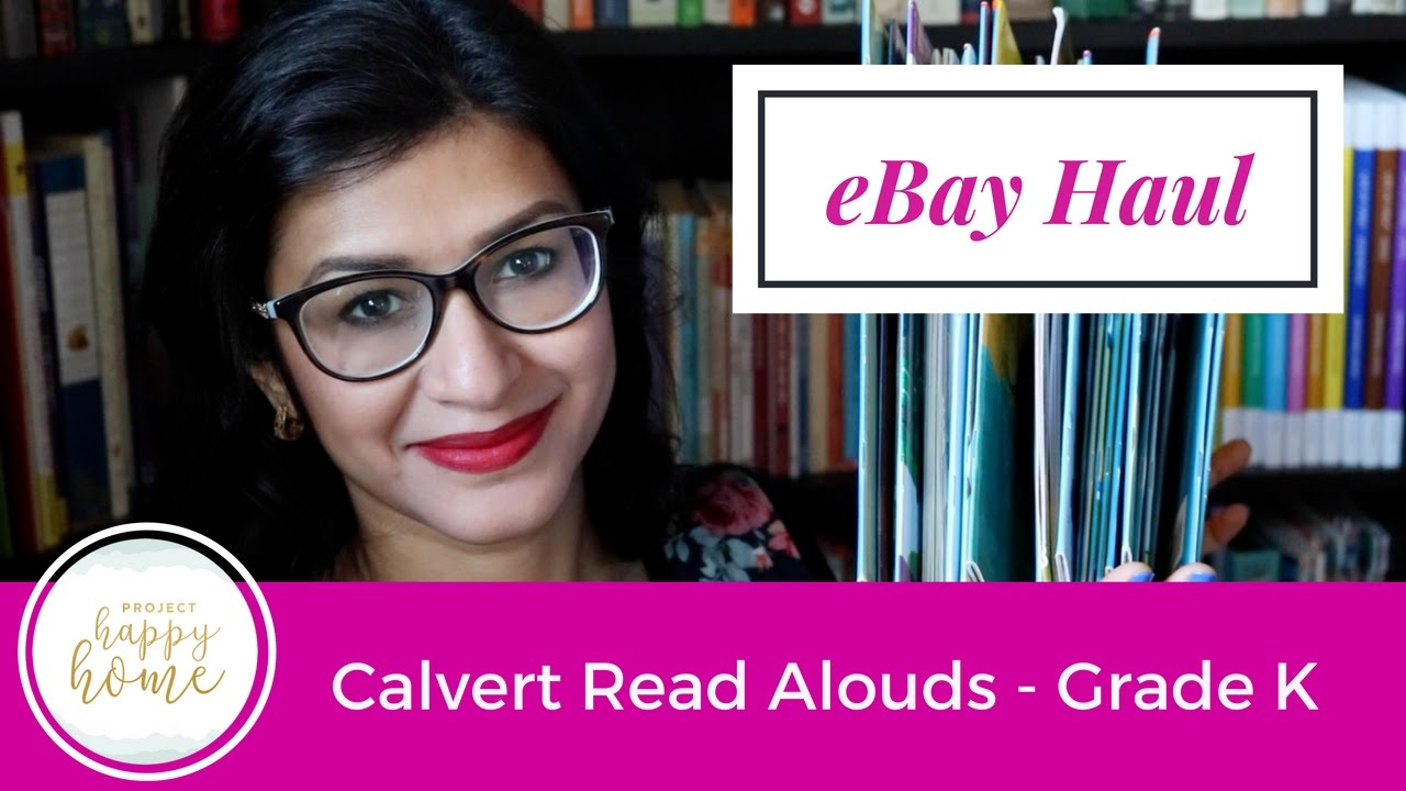 EBay Homeschool Haul Calvert K Reading Curriculum Jan 2017