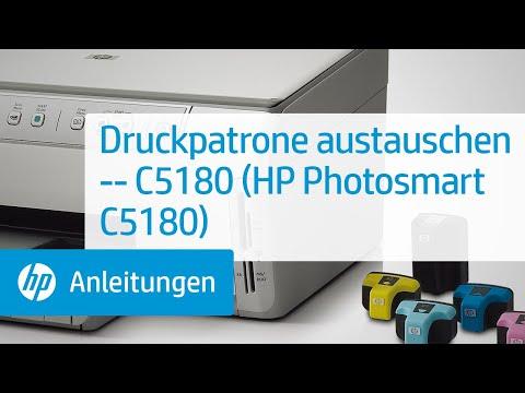 druckpatrone austauschen c5180 hp photosmart c5180. Black Bedroom Furniture Sets. Home Design Ideas