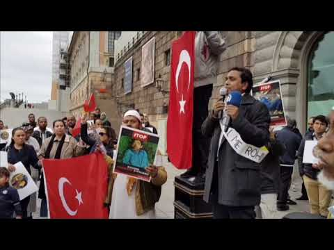 Demonstration for Rohingyas in Sweden