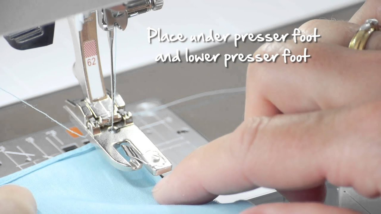 Tutorial: how to use the BERNINA hemmer feet no  61-69