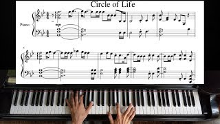 Circle Of Life The Lion King Piano Tutorial.mp3