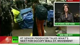 Bloomberg hopes to clean up Occupy Wall Street