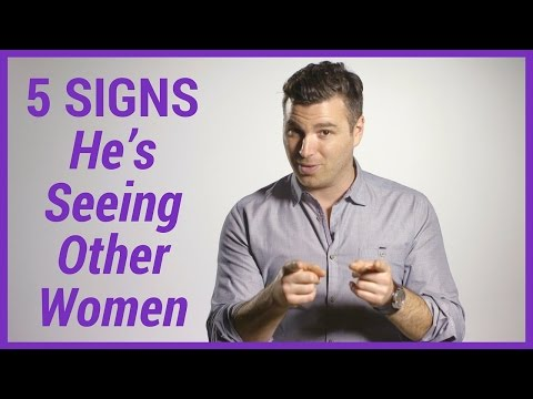 signs he's dating another woman