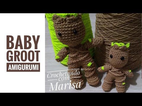 BEBÊ ASIÁTICO- Boneca Amigurumi padrão grátis | Gráfico de crochet ... | 360x480